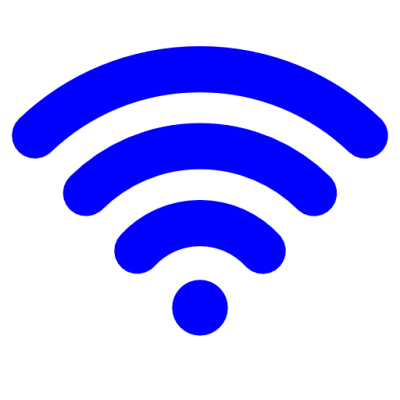 Blue Wifi Icon Images Picture