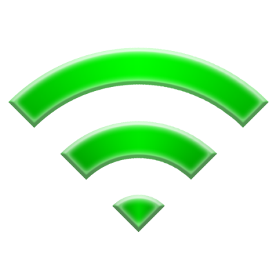 Green Wi Fi Icon Png