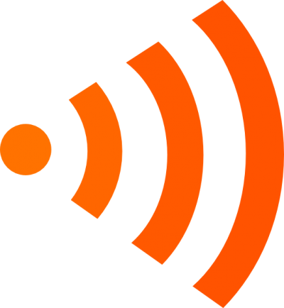 Orange Login Wifi Logo Right Clip Art At Images