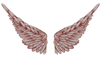 Angel Wings A Cartoon Caterpillar Trucker  PNG Images