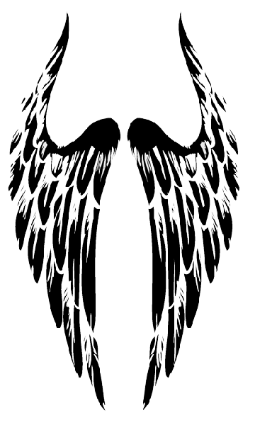 Angel Wings Png Tribal Hd PNG Images