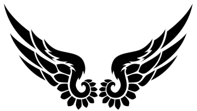 Black Wings Tattoos Transparent images PNG Images