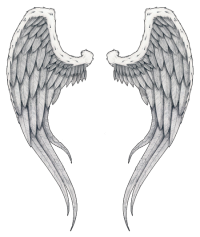 Wings Tattoos Clipart PNG Images
