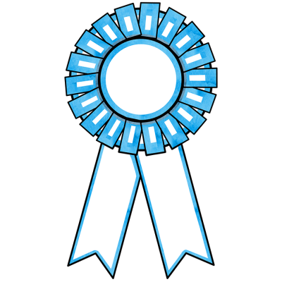 Winner Ribbon Background PNG Images