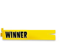 Yellow Background Winner PNG Picture