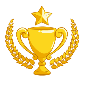 Golden Star Medal Winner Transparent PNG Images