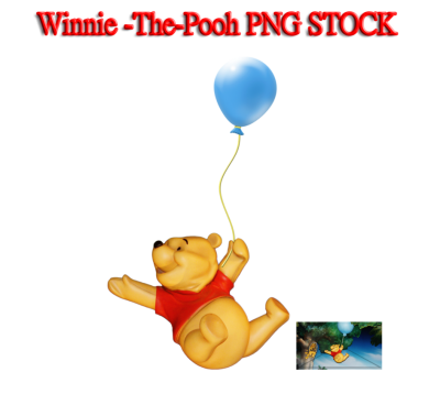 Ballon Winnie The Pooh Png PNG Images