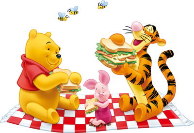 Winnie The Pooh And Tiger Png Clipart