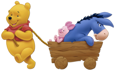 Winnie The Pooh Group Clipart Pic PNG Images