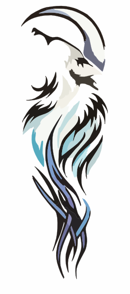 Tribal Wolf Tattoo Transparent PNG Images