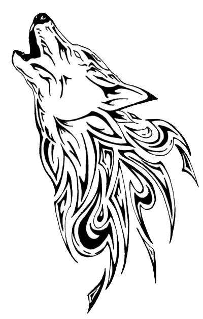 Wolf Tattoos Designs Transparent Photo PNG Images