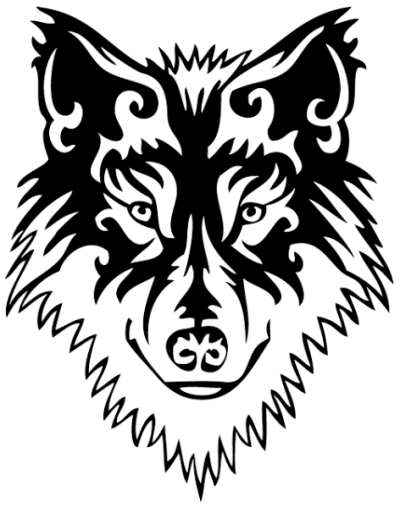 Wolf Tattoos Png Transparent Image