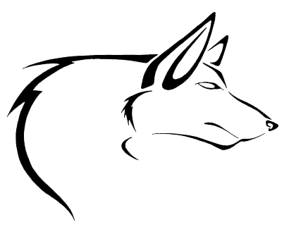 Wolf Tattoos Transparent Clipart Png