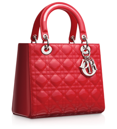 Red Textured Women Bag Png PNG Images