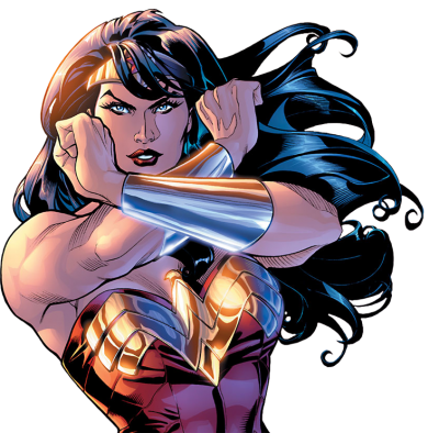 Cartoon Wonder Woman Render Png PNG Images