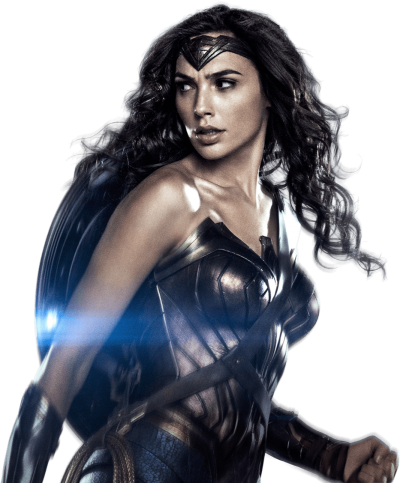 Gal Gadot As Wonder Woman With Shield Png PNG Images