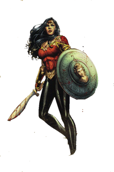 Wonder Woman Comic Games Png PNG Images