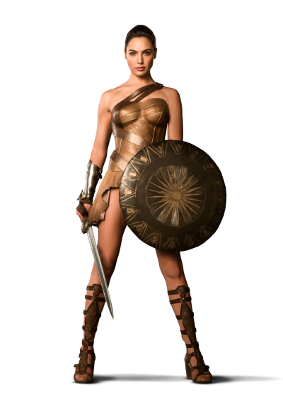 Wonder Woman Martial Artist Png PNG Images