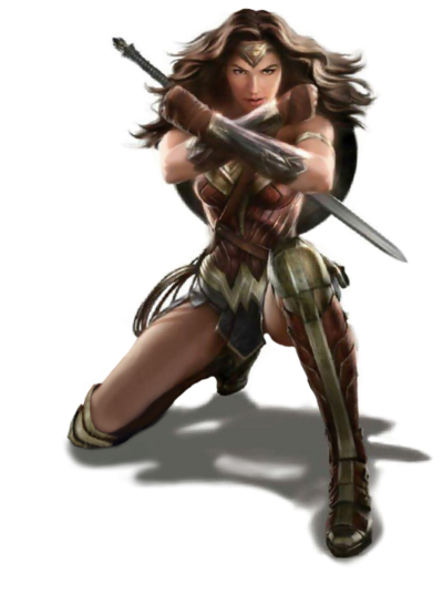 Wonder Woman Transparent PNG Images