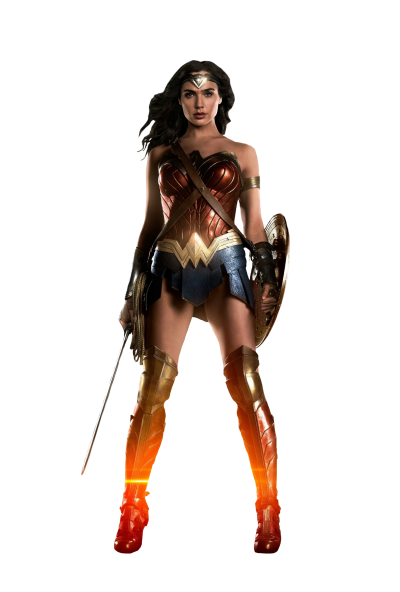 Wonder Woman Transparent Clipart PNG Images