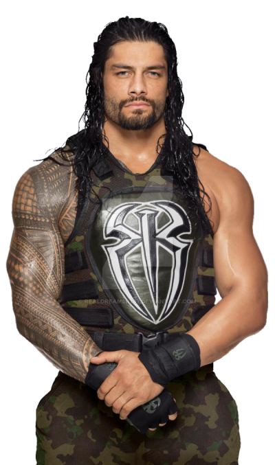 Fictional Character Roman Reigns WWE Raw PNG