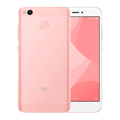 Phone, Mobile Xiaomi Redmi, Pink Transparent