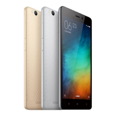 Xiaomi Redmi 3 Note Mobile Phone PNG Images