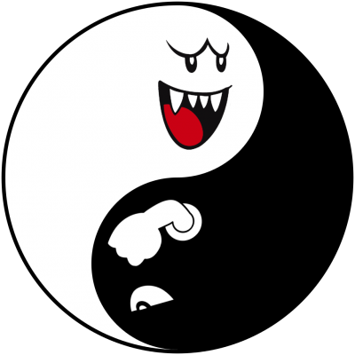Bullet And Mario Yin Yang Tattoos Png PNG Images