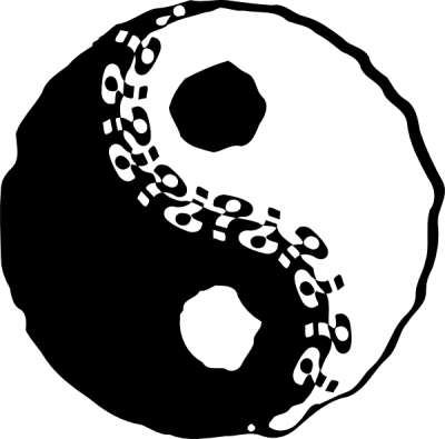 Coated, Equilibration, Equilibrium, Equipoise, Yin Yang Tattoos Clip Art PNG Images