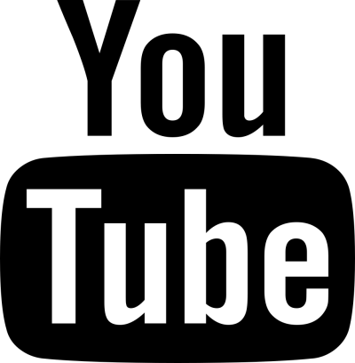 Black Youtube icon Png Transparent Free Download PNG Images
