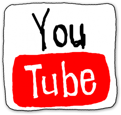 Drawing Youtube icon Transparent Download PNG Images