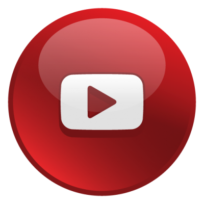 Youtube Glossy Social Icon Png