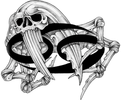 Skeleton Zodiac Tattoos Png Transparent PNG Images