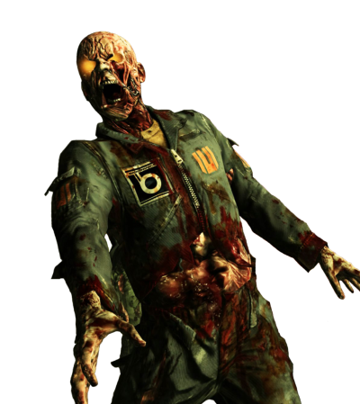 Call Of Duty Zombie Render Pictures PNG Images