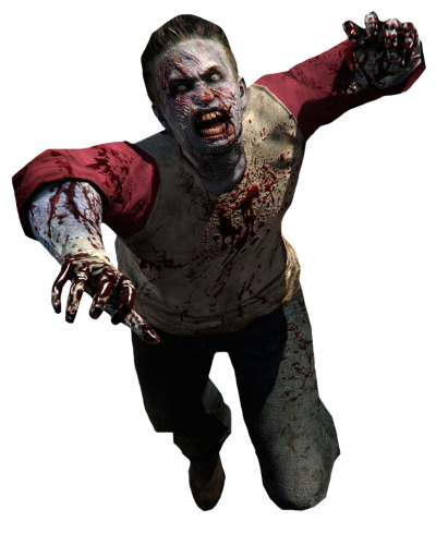 Zombie Red Png PNG Images