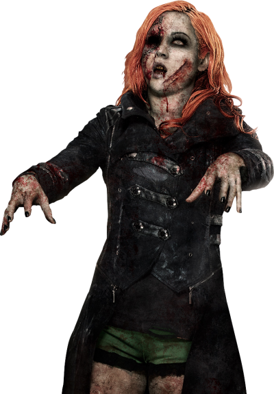Zombie Women Png PNG Images